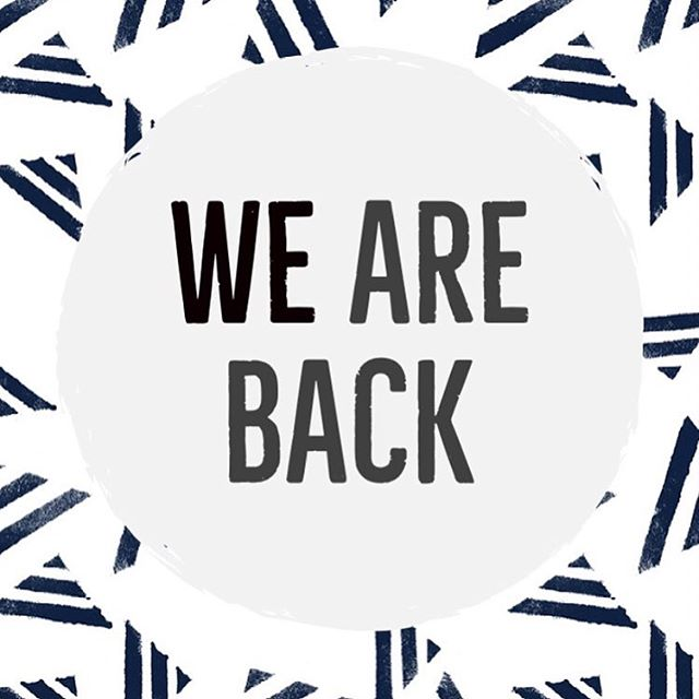We are finally back and excited to get back at it! We have missed you all! So sorry for being MIA! We have had a crazy summer waiting to move but we hope you all have been enjoying your Summer! You can finally make orders online again! Thank you all for your support and your patience during this transition! XOXOXO