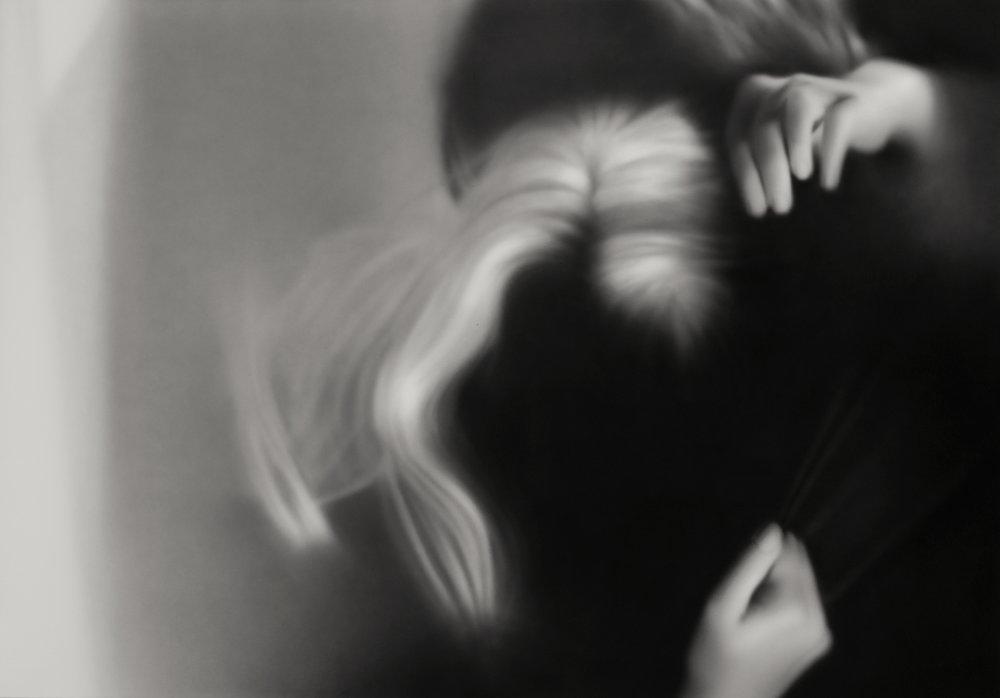 Blonde    acrylic painting on canvas, 114 x 160 cms, 2016