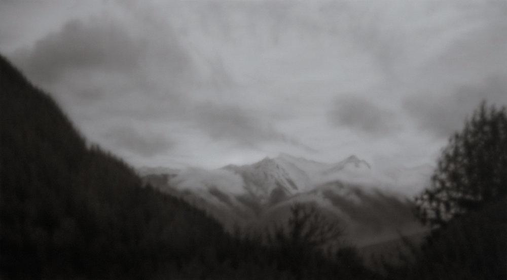 Hanna    acrylic painting on canvas, 90 x 160 cms, 2015