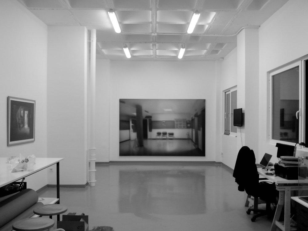studio view, 2017