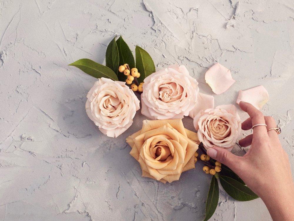 Instagram background - how to make a photo background - lavender and rose prop hire wedding florist glasgow1.jpg