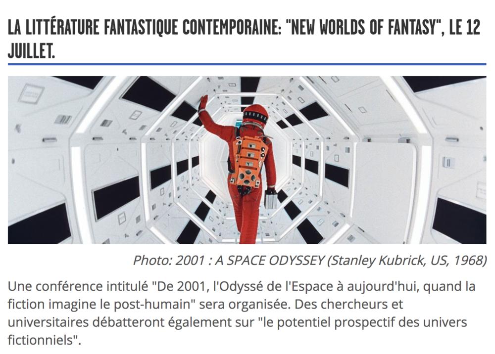 NIFF - Film Festival - Neuchâtel: Le Nifff Extended dévoile le début de son programme