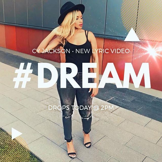 ✨ D R E A M • L Y R I C • V I D E O ✨  Drops Today STAY TUNED  Album : #BALANCE Song : #DREAM #cyjackson  #newmusic #popmusic #upcomingartist #comingsoon #billboard #mtv #vh1 #bet #indieartist #musicvideo #singer #songwriter #artist  #beinspired  #contemporarymusic #ngenradio #air1radio #reachrecords  #unashamed #capitalrecords #myblock #dreambig  #tobymac  #bethechange #lit