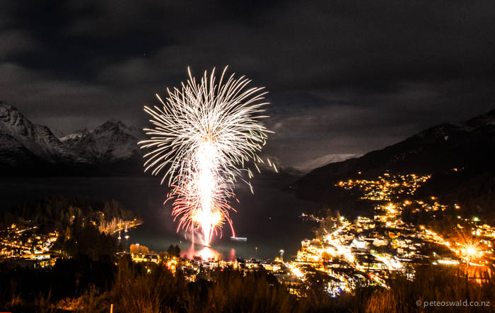 The opening of Queenstown WinterFest 2013