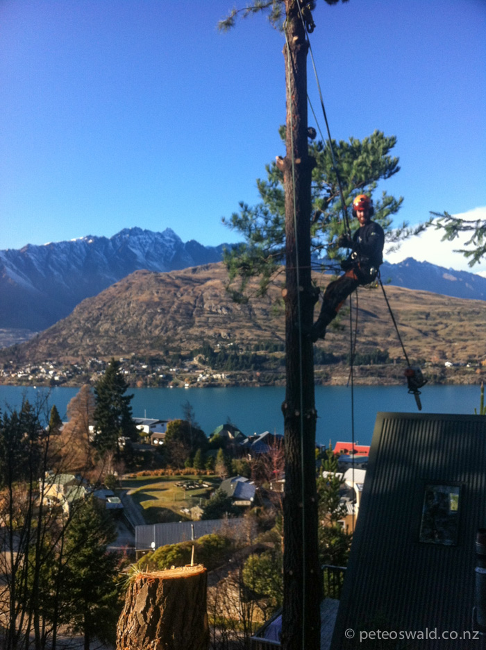 On the job with Jimmy Carling in Queenstown, NZ