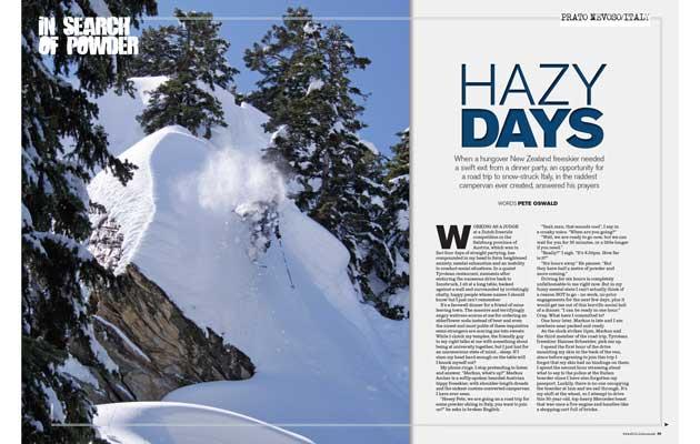 Fall-Line Magazine - Hazy Days