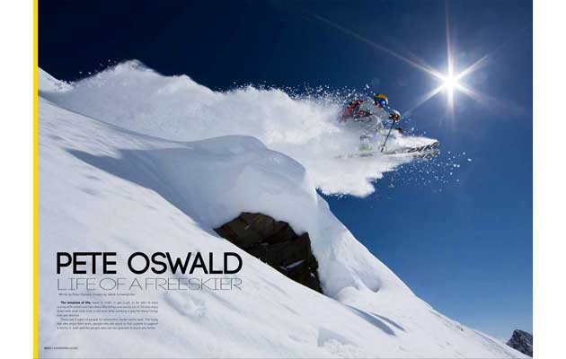 Ski & Snow Magazine - Life Of A Freeskier