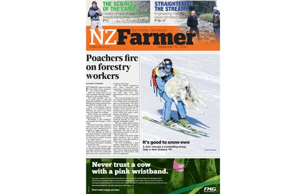NZ Farmer - Front Cover