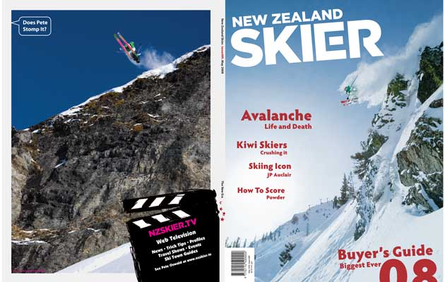 NZ Skier Magazine - Back Cover