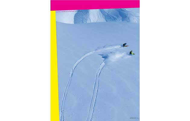 NZ Skier Magazine - Gallery Image, Neil & I