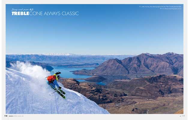 Snow Action Magazine - Treble Cone Ad