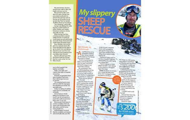 Take 5 Magazine - Sheep Rescue