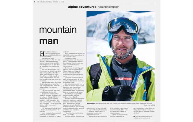 Saturday Express Newspaper - Mountain Man
