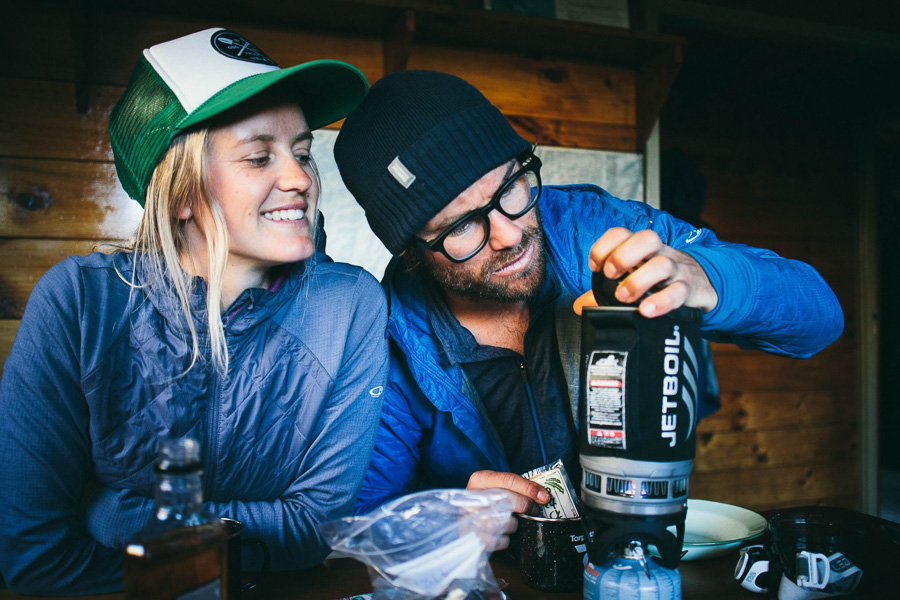 Not much better than a hot miso soup after a long hike. Photo: Tom Powell