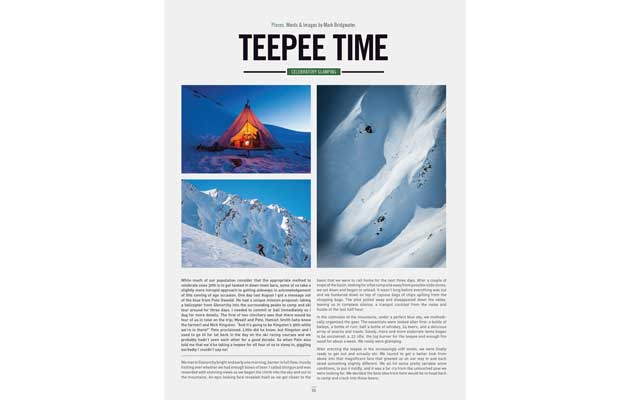 NZ Skier - Teepee Time
