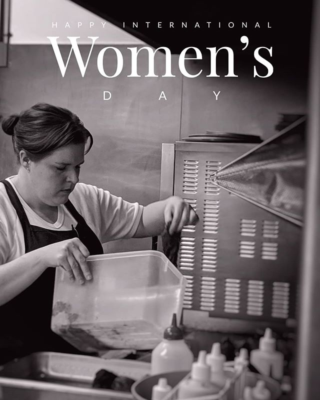 Here's to a happy International Women's Day,  To the Queen of our kitchen and the dedicated women in the industry, we celebrate this day with you.  #internationalwomensday