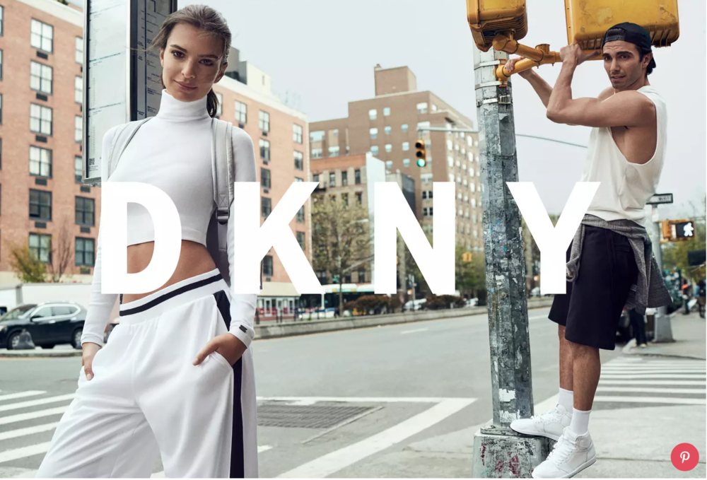 FW17 DKNY campaign