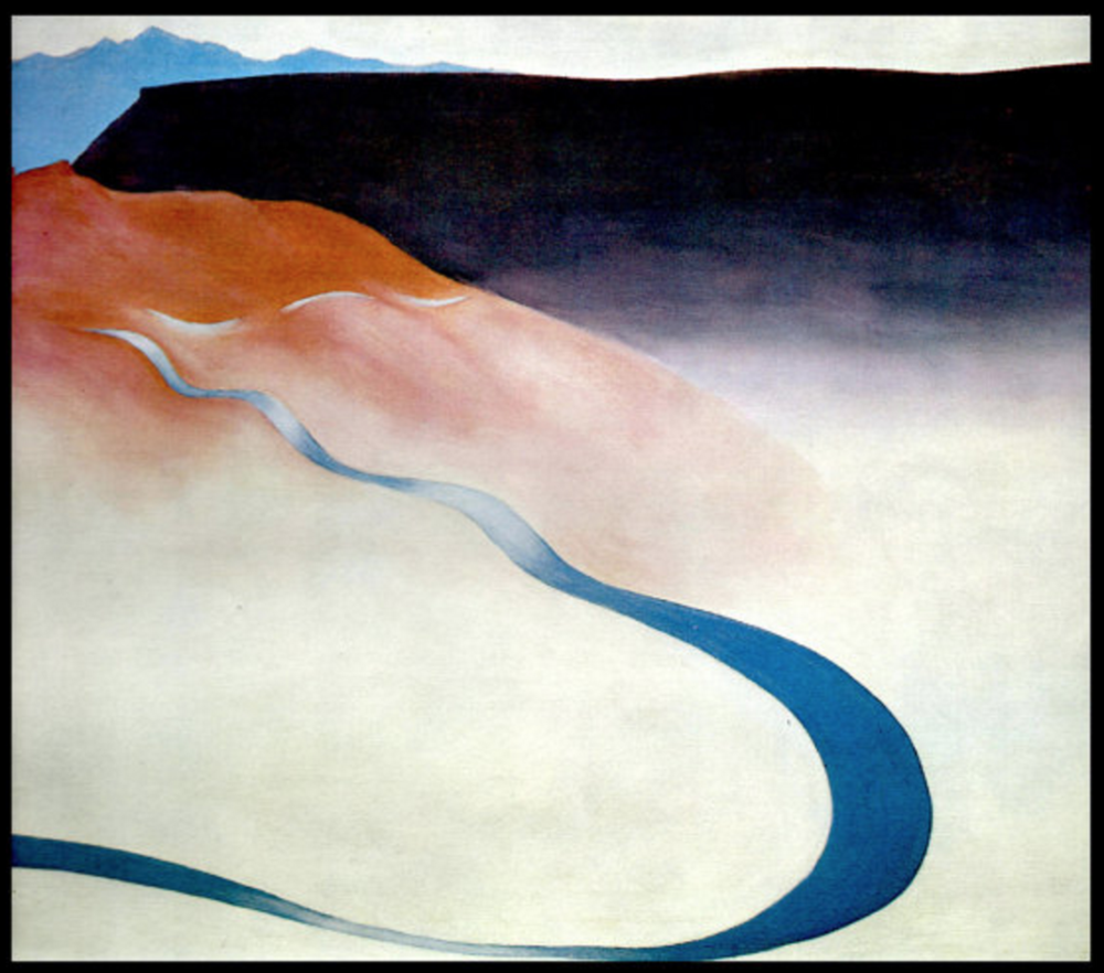 1964 Georgia O'Keefe print