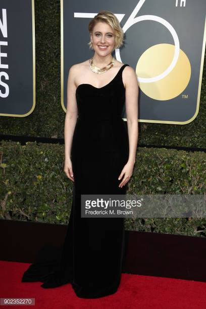 Gerwig at the Golden Globes, Getty Images