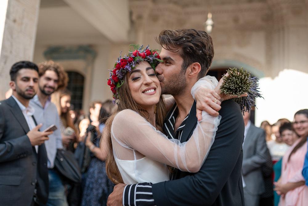 Wedding in Cyprus lefkara the kiss.jpg
