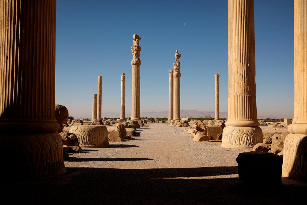 A site of irrefutable international significance; older than Christ, built by Darius and Xerxes, destroyed by Alexander. If this was in almost any other country in the world, it would have thousands walking through these pillars every day. But today, the ancient city of Persepolis lies almost empty of tourists.