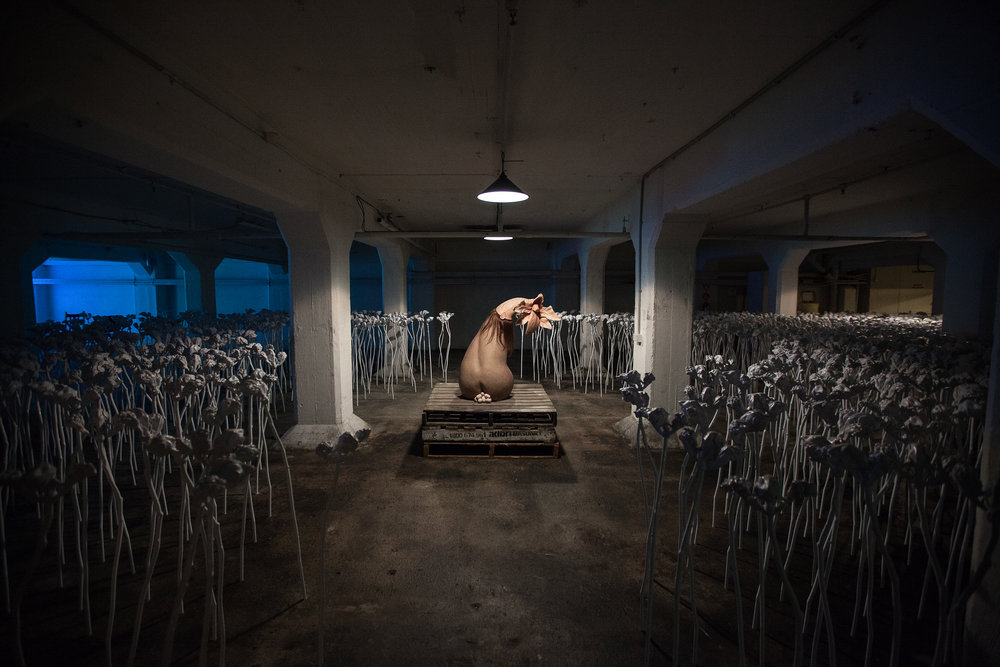The Shadows Calling  Patricia Piccinini (Born 1965, Freetown, Sierra Leone; lives and works in Melbourne, Australia)  Commissioned for Dark Mofo 2015