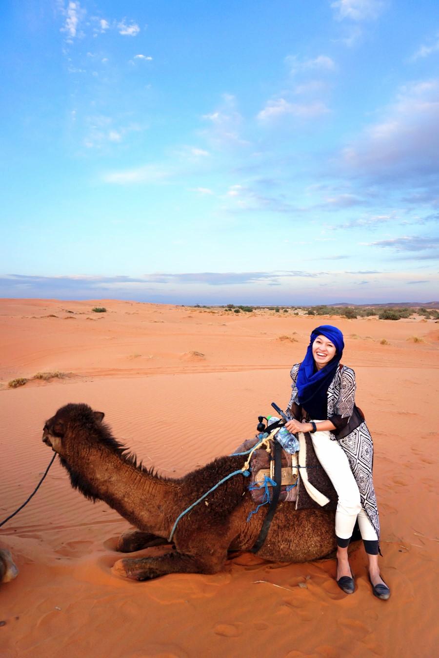 Meet my baby camel!