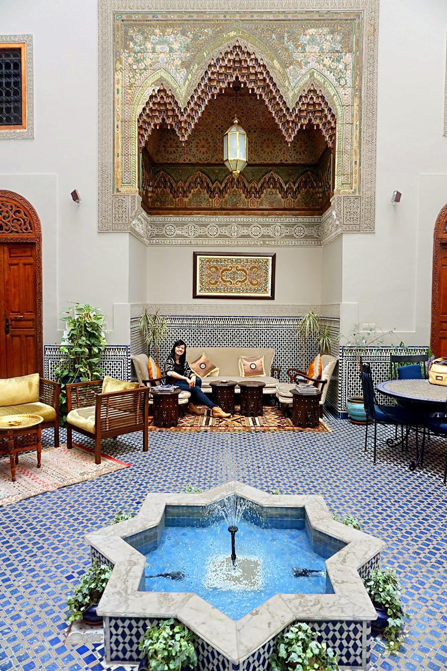 Riad Zamane Fes - Lounge