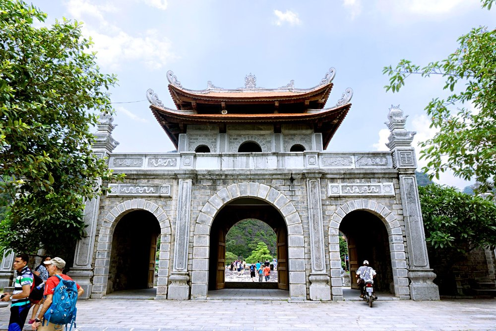 The entrance to the temple area which housed both the King Dinh and the King Le Temples.