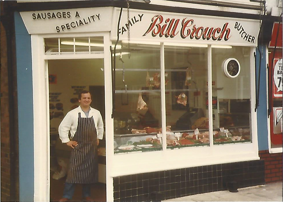 Bill Crouch at Crouch Butchers, Kent independent butcher