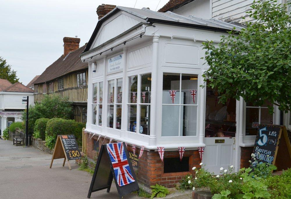 Crouch independent butchers, Staplehusrt, Kent