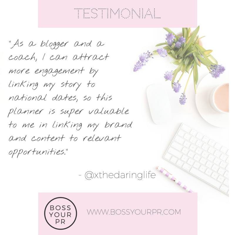 Boss Your PR Testimonial