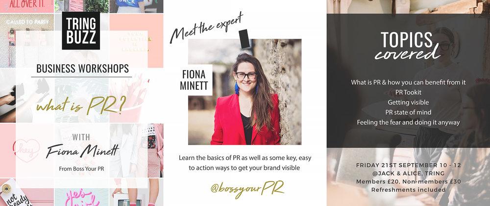Tring Buzz_PR workshop flyer_Fiona Minett.jpg