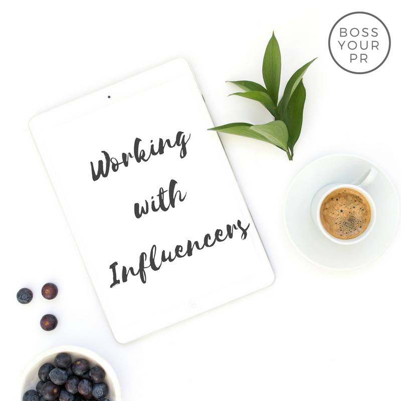 how to work with influencers - Boss Your PR