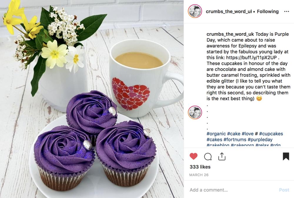 Purple Day - using Boss Your PR social media planner
