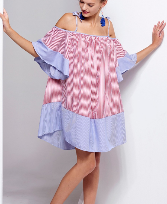 Stripped mini dress - Storetsstorets.com55 Eur