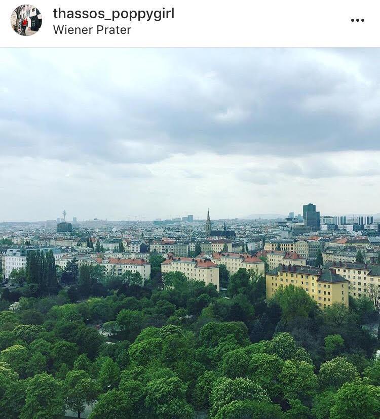 гледка от Виенското колело