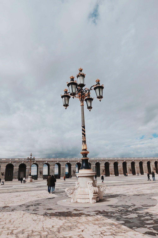 Palacio Real - вътрешен двор