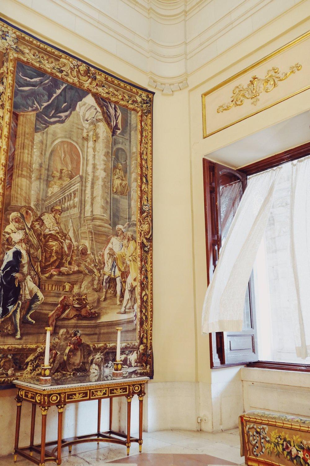 Palacio Real - интериор