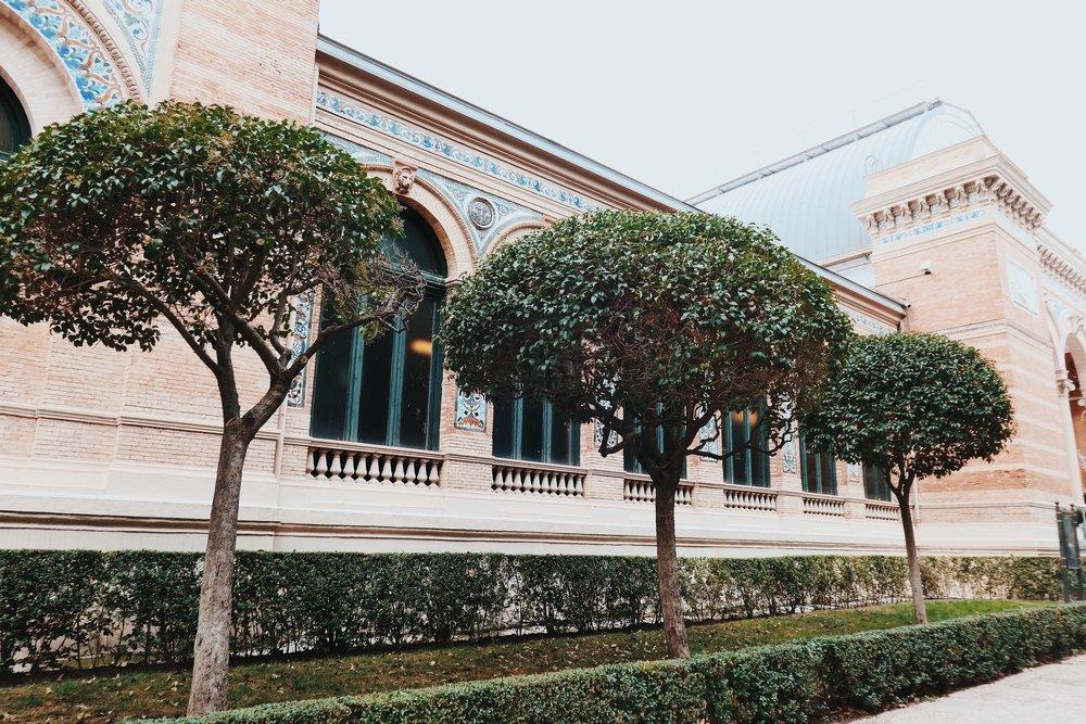галерия, част от Museo de la Reina Sofia