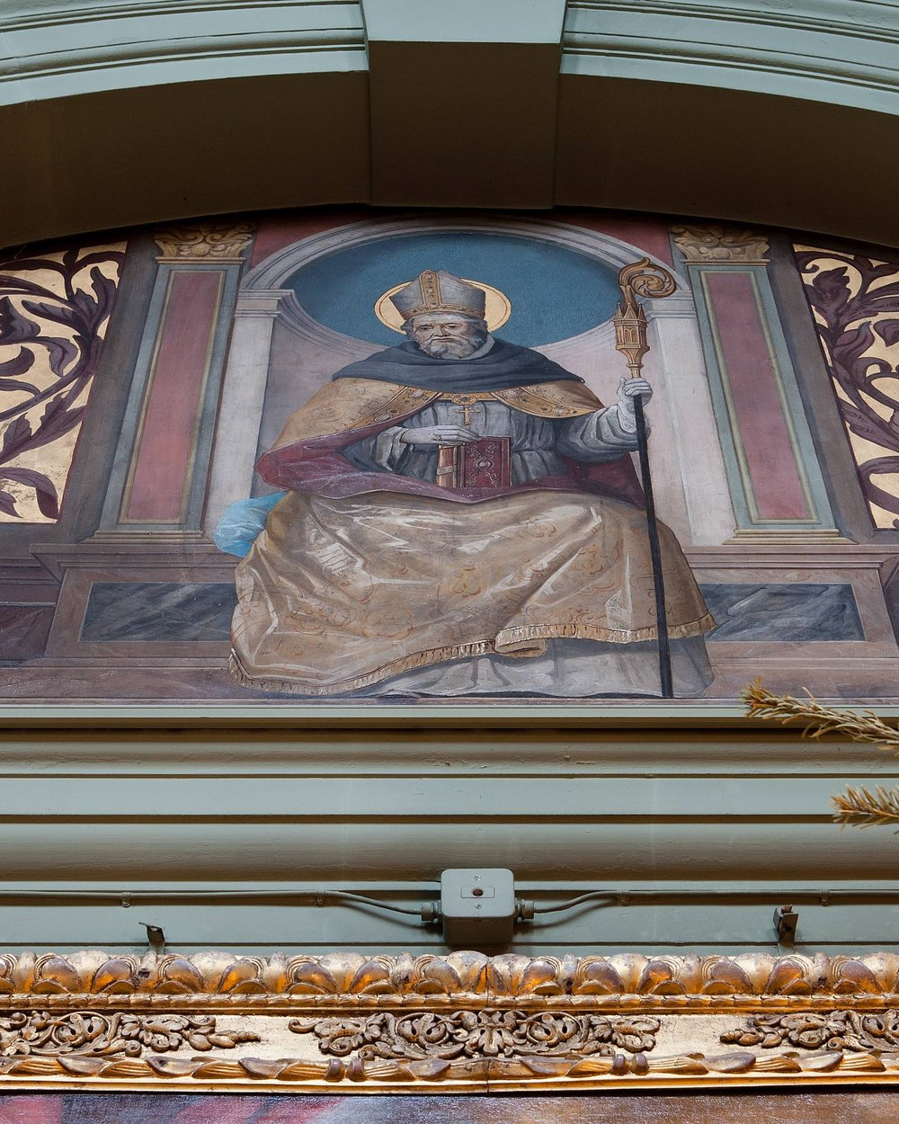 St. Augustine - Born in Thagaste, in Roman North Africa in 354, the story of St. Augustine's life is that of a ceaseless search for truth.  Initially turning his back on his mother's Christianity, he led a turbulent personal life before being re-converted and baptised by St. Ambrose in 387.  He was reluctantly ordained priest in 391 and bishop in 396.  His extensive doctrinal writings, letters and sermons (totalling more than five million words) have had a profound influence on the great theologians of subsequent centuries.  He died in 430 and his feast day is August 28th.