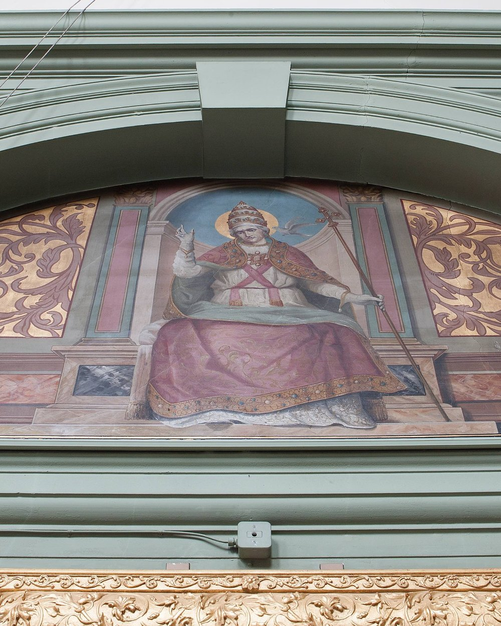 "Pope St. Gregory the Great - Born in Rome, the son of a Senator, St. Gregory gave up a political career, having been Prefect of Rome, for the monastic life.  He became abbot in 585, was appointed one of the seven deacons of Rome and papal legate to Constantinople.  He succeeded to the papacy in 590.  He promoted sacred music, giving his name to ""Gregorian chant"", and sent monks from his old monastery, led by St. Augustine of Canterbury, to evangelise the Angles of Britain.  He died in 604 and his feast is celebrated on September 3rd, the date of his election as pope."