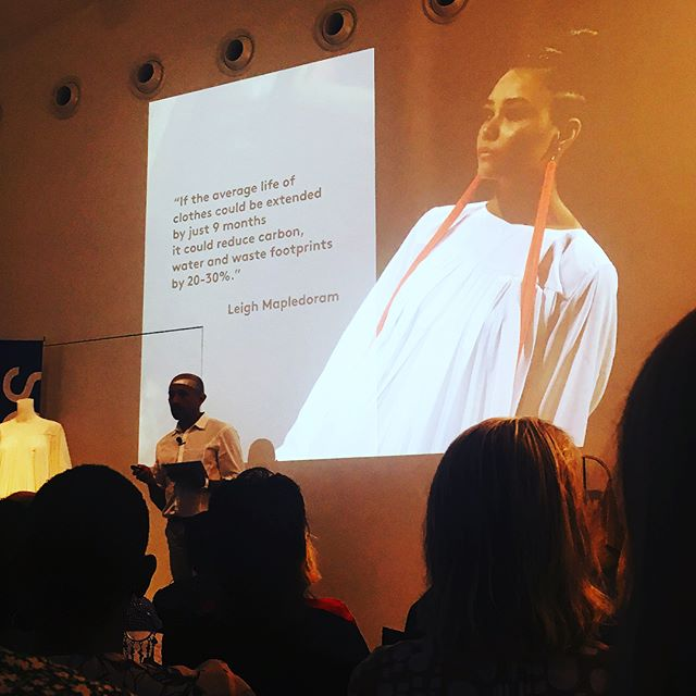 Huge thanks to @shermanscci and @mrspress for curating a wonderful and thought-provoking day of discussions around the ethics and sustainability issues facing the fashion industry 🙌 The more noise we can make around these issues, the more people will listen 🌿