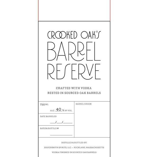 Soon to be released - Barreled Vodka!