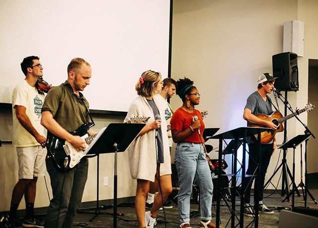 Come worship with us tonight at 7pm! We have a change in location and will be meeting in AMB 27. Can't wait to see y'all!