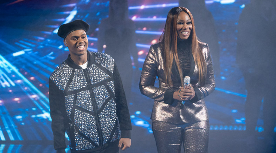 Michael Woodard and Yolanda Adams (Photo Credit: ABC/Eric McCandless)