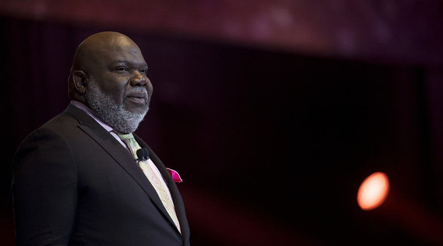 T D  Jakes reveals past suicide attempt and tells others