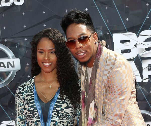 Deitrick and Domonique Haddon (Credit: Getty)