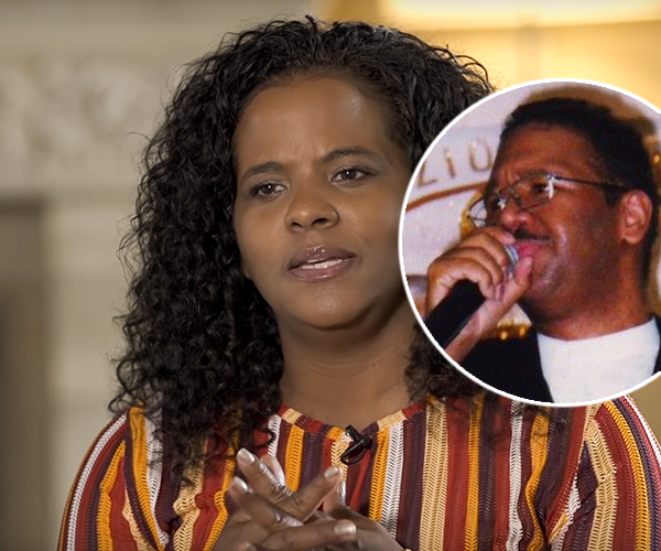 Tamara Bennett shares her shocking true story of hiding her husband's secret that he was afflicted with AIDS (Credit: Journeys of Faith Documentary/EEW)