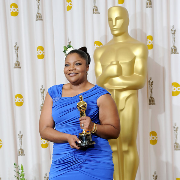 Mo'Nique wins Best Supporting Actress award for  Precious: Based on the Novel 'Push' by Sapphire , at the 82nd Annual Academy Awards at Kodak Theatre March 7, 2010 in Hollywood California. (Credit: Jason Merritt/Getty)